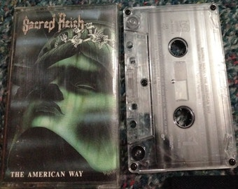 Sacred Reich - The American Way 1990 cassette tape