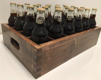 Homebrewer's Bottling Crate, Coffee Maple