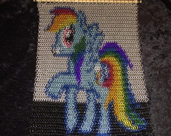 My Little Pony Chainmail Inlay