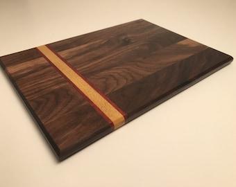 Hand made wood cutting board