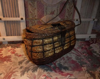 A charming little old basket of child