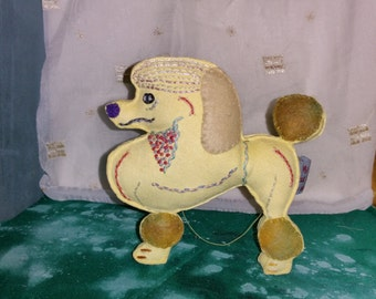 Poodle Art Doll