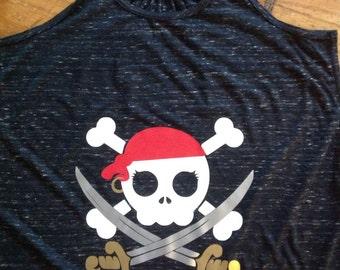 Pirate Skull Tank Top