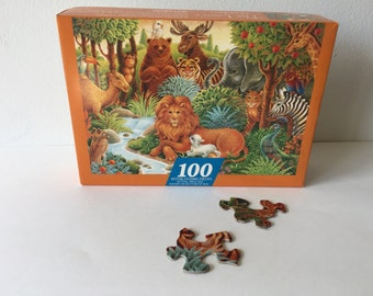 THE LION'S GARDEN Springbok Puzzle