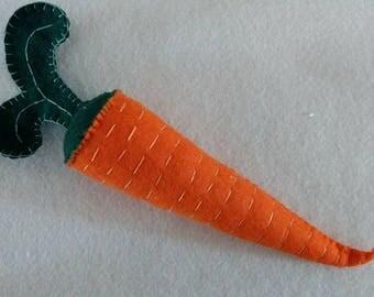 CARROT wool playfood (waldorf)