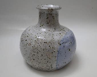 Handmade Speckled Ceramic Vase