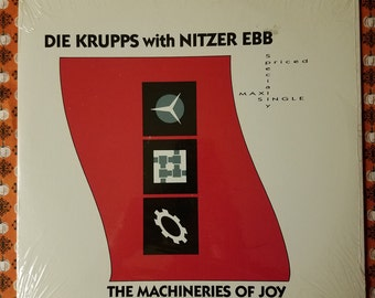 Die krupps with Nitzer ebb- The machineries of joy/maxi-single 0-21291