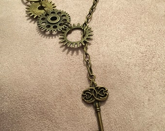 Steampunk #1 necklace