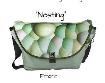 """Messenger Bag - """"Nesting"""" - Great gift item!"""