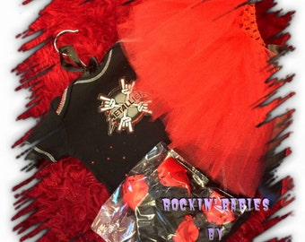 Metallica Themed Tutu Set