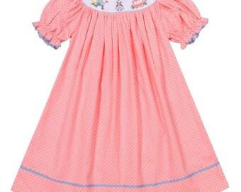 Smocked Princess Dress