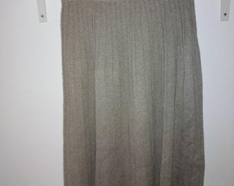 MIDI knit Skirt size M / / Midi skirt size M