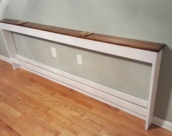 Oak Top Sofa Table