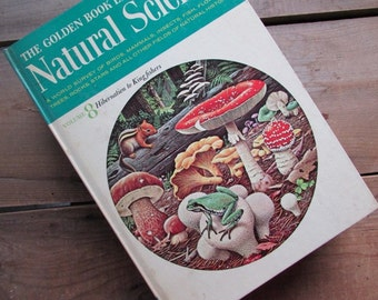 Golden Book of Natural Science Volume 8 HIbernation to Kingfishers