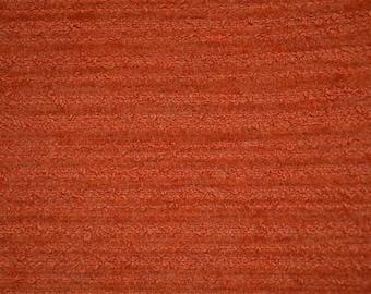 Duralee Pavilion indoor outdoor fabric sample- carrot Tomato fabric - teflon coated fabric - designer fabric - journal fabric - bag fabric