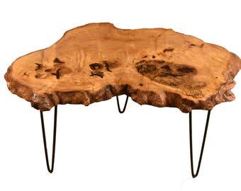 Live Edge Coffee Table - Ash Tree