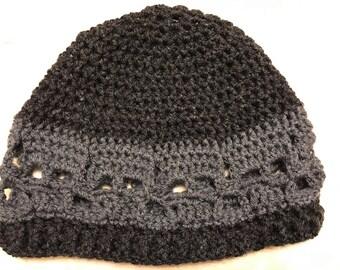 Skull Crochet Beanie