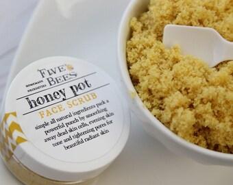 Honey pot // FACE SCRUB // polish