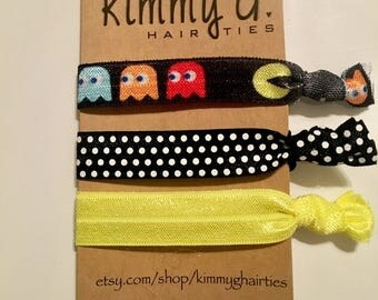 Gaming elastic hair ties