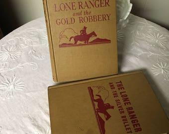 Vintage Lone Ranger Books