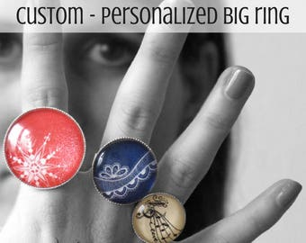 Customized - personalized ring