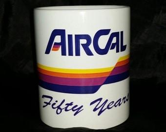 Air Cal 50th Anniversary Cup