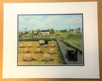 The Lapp Farm Oil Painting Print