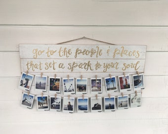 Quote Photo Hanging Display