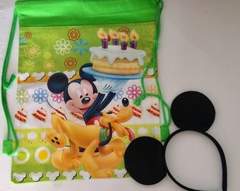 Clearance Mickey Mouse Party Favors, Mickey Mouse Headband, Mickey Mouse Bags Party Favors, Disney Trip, Disney Vacation, Mickey Mouse