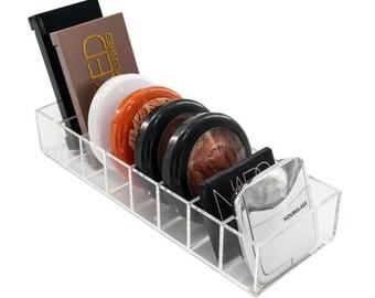 8 Compact Holder Acrylic Makeup Storage