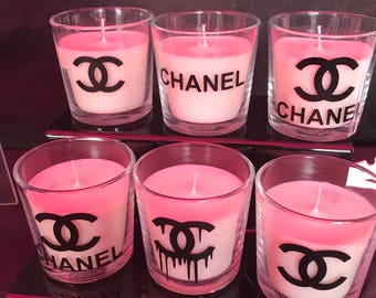 Stunning Designer Inspired style Candle / Various Designs