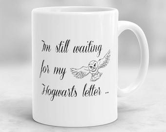 Harry Potter Mug, Hogwarts Mug, Harry Potter Letter Mug, Harry Potter Owl Mug, Harry Potter Gift P41