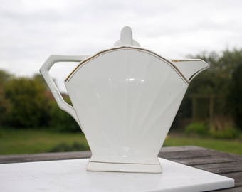 Art Deco French Tea Pot Stunning Stylish