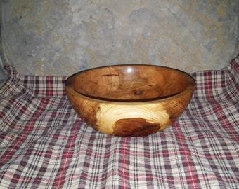 Wooden Bowl Red Oak
