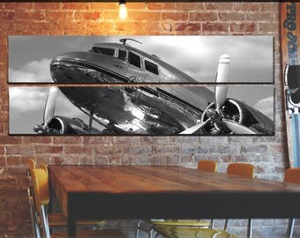Vintage Airplane Wall Art large aircraft canvas wall art airplane wall art airplane