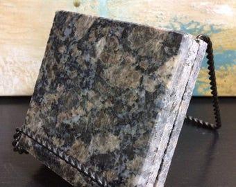 Natural Granite Stone Coasters Set of 3