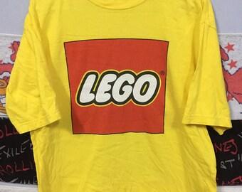 NICE DESIGN!! LEGO by Lego clothing big logo crewneck size S