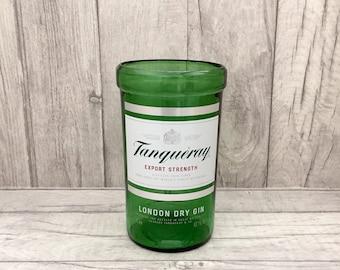 Tanqueray Gin Vase / Utensil Holder / Ice Bucket (Recycled Bottle)