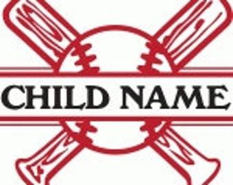 baseball,softball,decal,vinyl, Babe Ruth,YMCA,sports,kids,little leauge,custom,jersey,laptop,coach,mom,dad,pride,proud