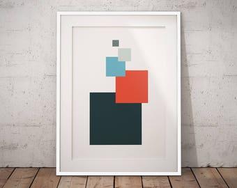Nordic print art, Nordic art design, Nordic wall print, Scandinavian print, Geometric poster art, Large Minimalist Art, Nordic poster art