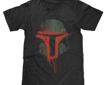 Boba Fett T-Shirt Star Wars Shirt (Licensed) Available in Adult & Youth Sizes