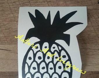 Mod Kitchen Pyrex Pineapple Decal