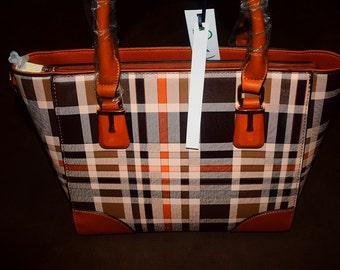 Vegan leather Handbag (tan)