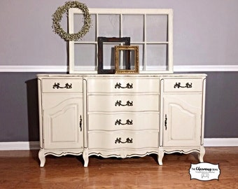 SOLD Custom Mix Cream Buffet, Lammerts Furniture, Dining Room, Kitchen,  Entry Way