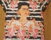 Frida Striped Flower Shirt