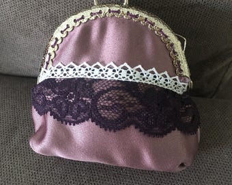 Lilac purse