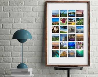 A3 Custom Photo Collage Poster