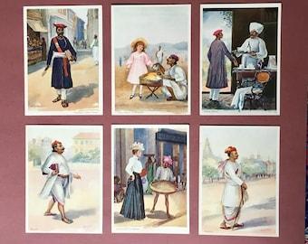 Rare Early 1900s British India Postcards by M. V. Dhurandhar