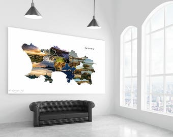 Photographic Print : The Parishes, Jersey