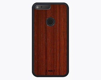 Google Pixel Wood Phone Case - Padauk Real Wood Case